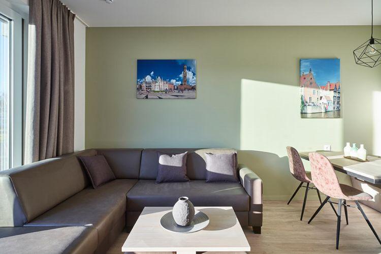 Vakantiehuizen Belgie | West-Vlaanderen | Appartement te huur in Jabbeke   met wifi 5 personen