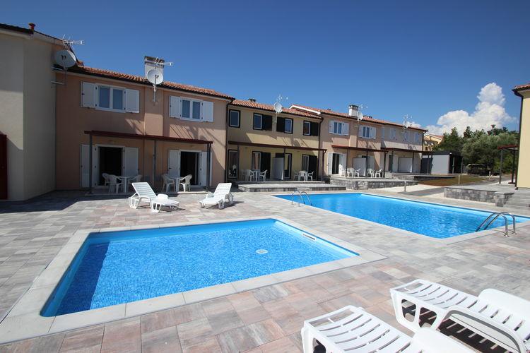 Appartement met zwembad met wifi  Tar-VabrigaJana B4 -2