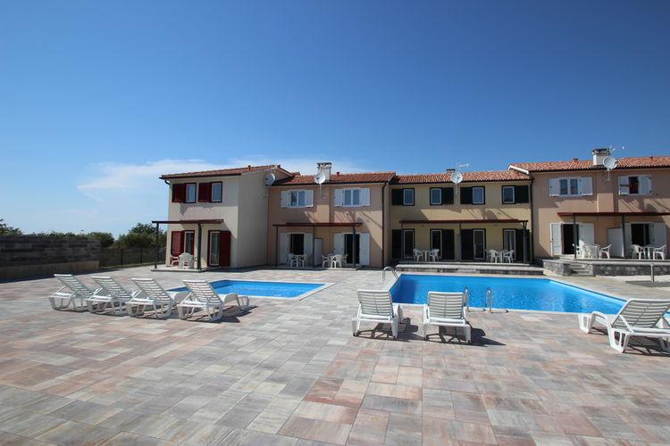 Appartement met zwembad met wifi  Tar-VabrigaJana B4 - 4