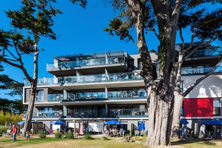 Appartement met zwembad met wifi  Pays de la loireResidence de la Plage 2