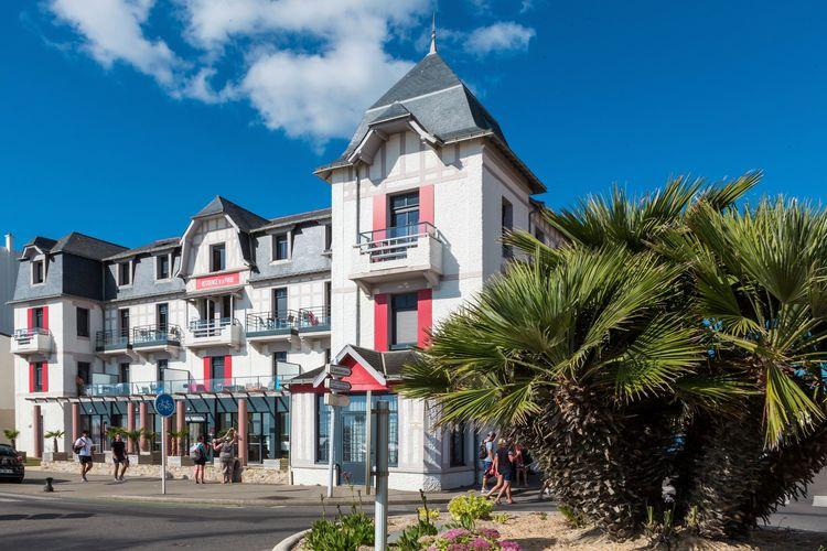 Appartementen Frankrijk | Pays-de-la-loire | Appartement te huur in PORNICHET met zwembad  met wifi 5 personen