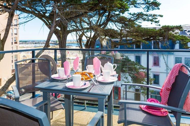 Appartementen Frankrijk | Pays-de-la-loire | Appartement te huur in PORNICHET met zwembad  met wifi 6 personen
