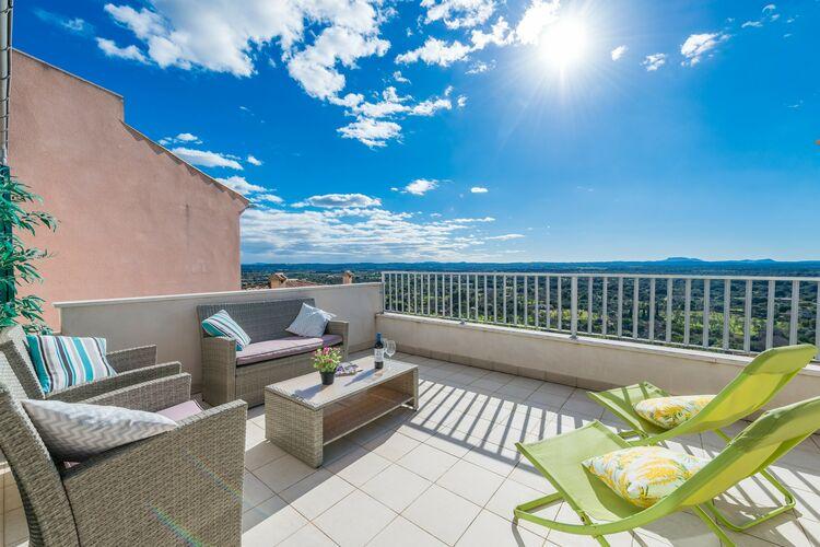 Vakantiehuizen Spanje | Mallorca | Chalet te huur in Buger-Illes-Balears   met wifi 8 personen