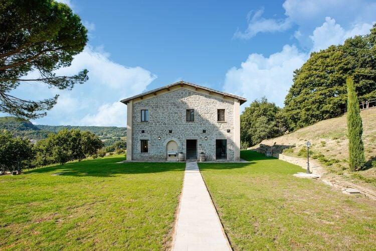 Vakantiehuizen Italie | Umbrie | Villa te huur in Sermugnano met zwembad  met wifi 8 personen