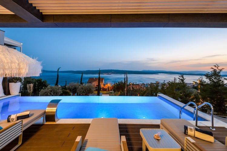 Villas Kroatie | Kvarner | Villa te huur in Crikvenica met zwembad  met wifi 8 personen