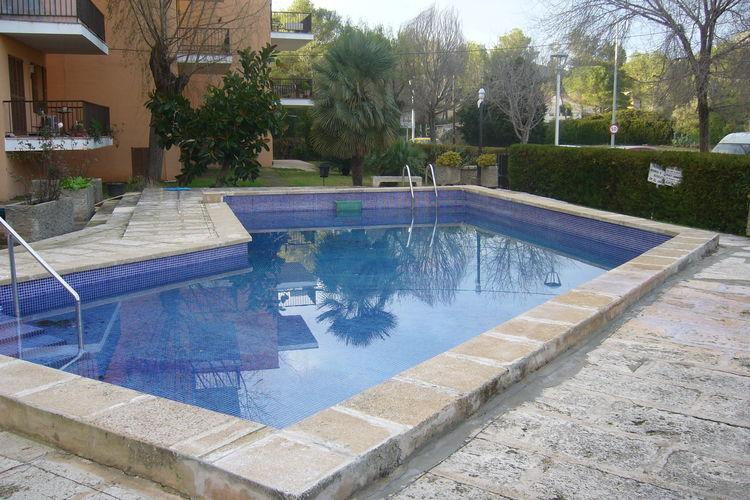 Vakantiehuizen Spanje | Mallorca | Appartement te huur in Pollenca-Port met zwembad  met wifi 7 personen