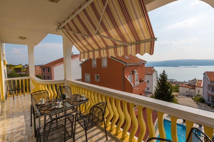 Appartement Kroatië, Kvarner, Crikvenica Appartement HR-00016-61