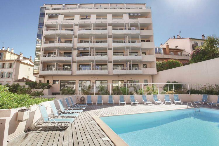 Appartement met zwembad met wifi  CANNESRésidence Les Félibriges 1