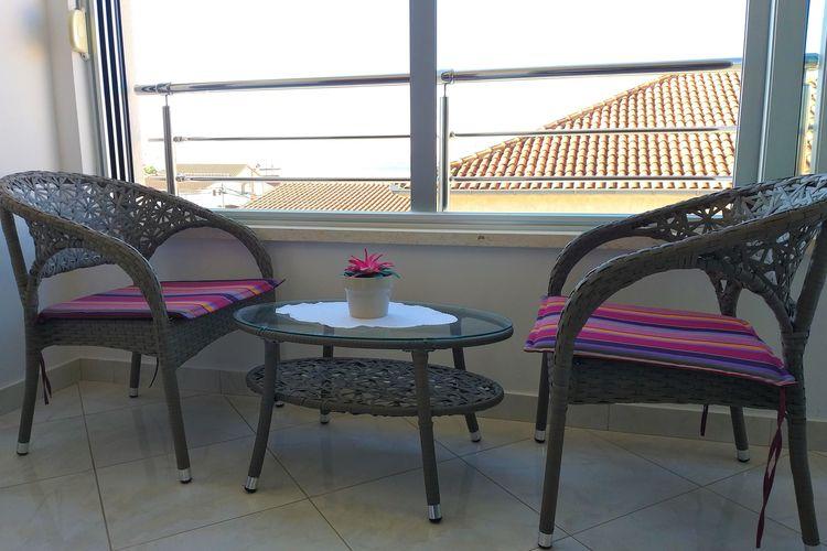 Vakantiehuizen Kroatie | Dalmatie | Appartement te huur in Okrug-gornji   met wifi 4 personen