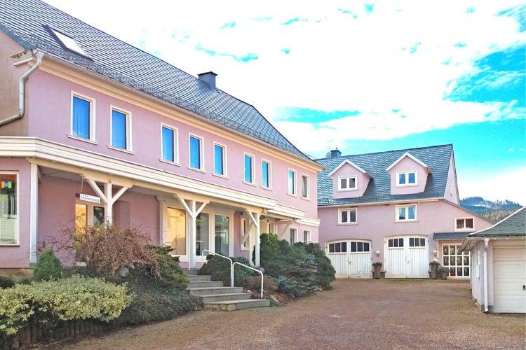 Duitsland | Thuringen | Appartement te huur in Bad-Tabarz met zwembad  met wifi 2 personen