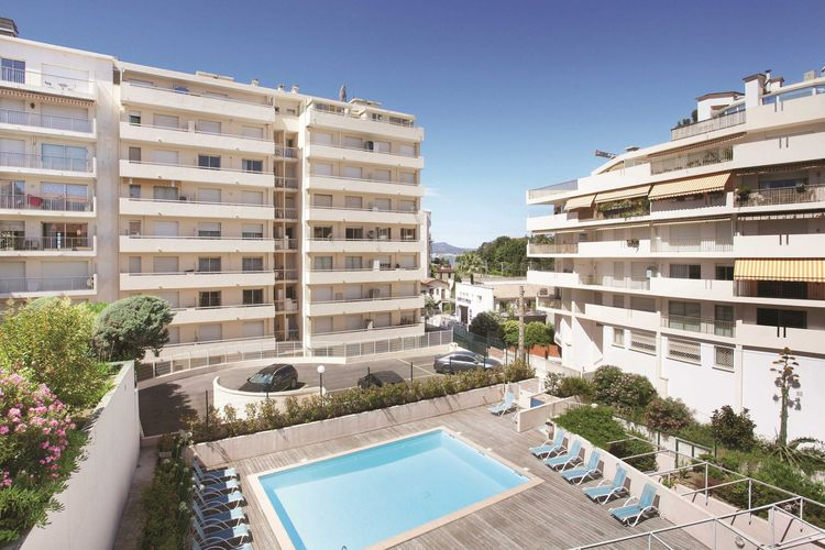 Appartement met zwembad met wifi  CANNESRésidence Les Félibriges 2