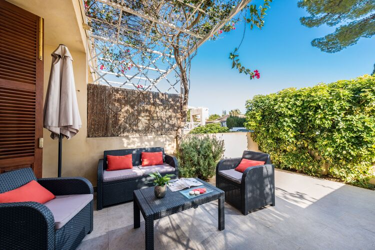 Vakantiehuizen Spanje | Mallorca | Chalet te huur in Port-Dalcudia-Illes-Balears   met wifi 4 personen