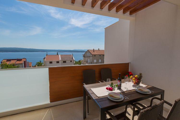 Villa Kroatië, Kvarner, Dramalj Villa HR-00016-77