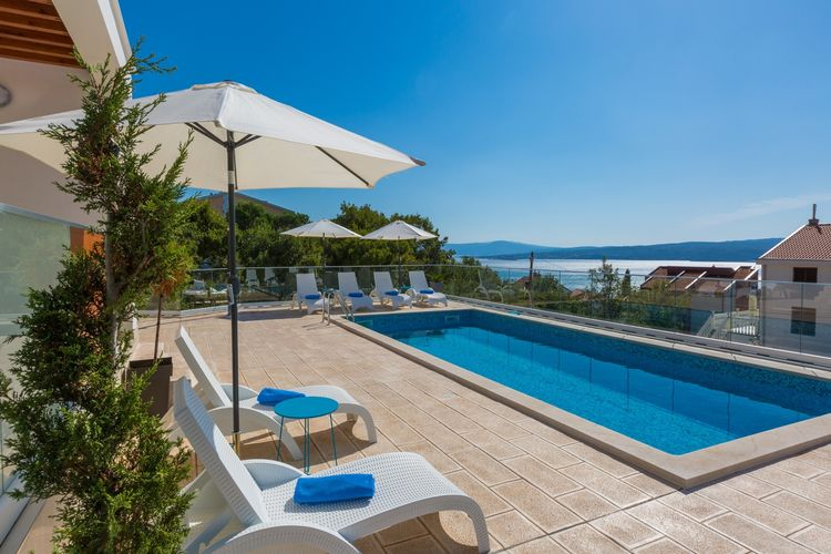 Villa Kroatië, Kvarner, Dramalj Villa HR-00016-80