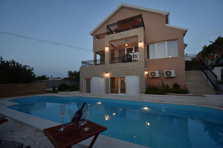 Kroatie | Eld | Villa te huur in Murter met zwembad  met wifi 10 personen