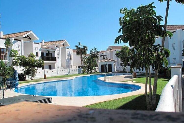 Spanje | Luz | Appartement te huur in San-Roque met zwembad  met wifi 4 personen