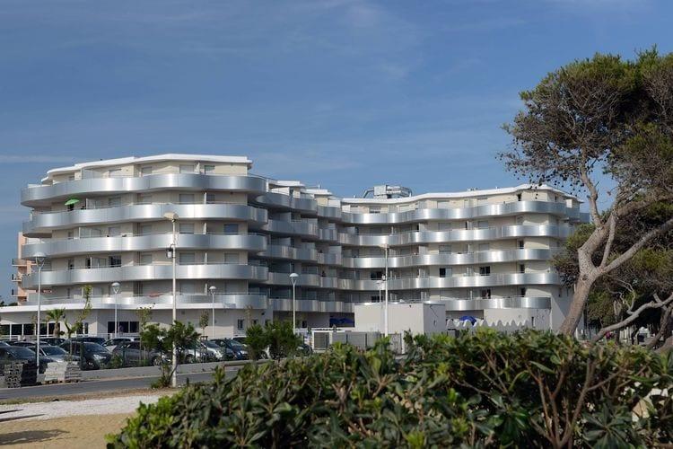 Vakantiehuizen Frankrijk | Languedoc-roussillon | Appartement te huur in Le-Barcares met zwembad  met wifi 4 personen