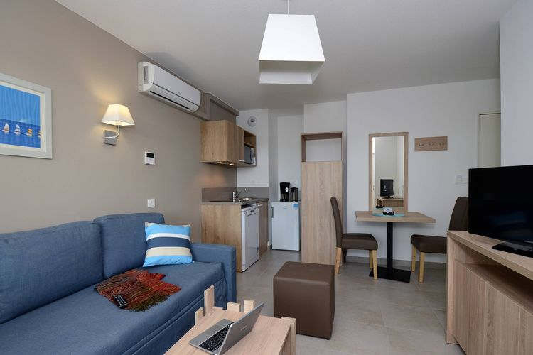 Vakantiehuizen Frankrijk | Languedoc-roussillon | Appartement te huur in Le-Barcares met zwembad  met wifi 6 personen