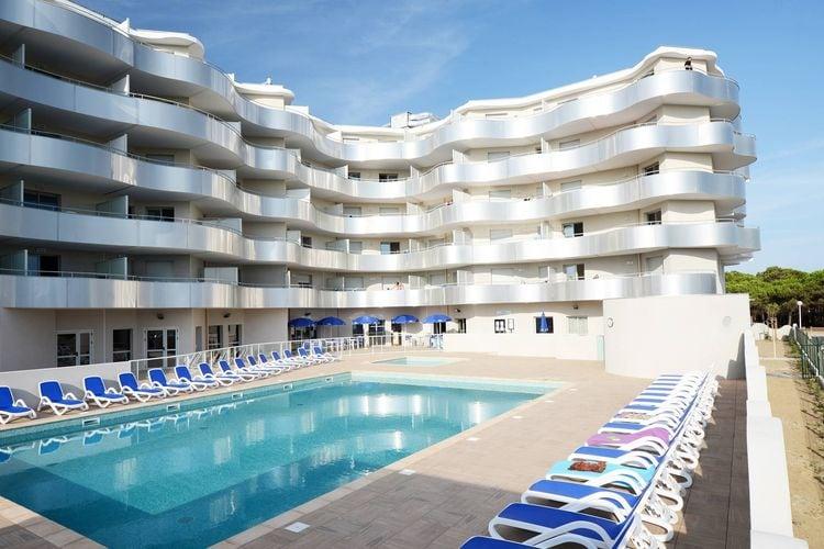 Vakantiehuizen Frankrijk | Languedoc-roussillon | Appartement te huur in Le-Barcares met zwembad  met wifi 7 personen