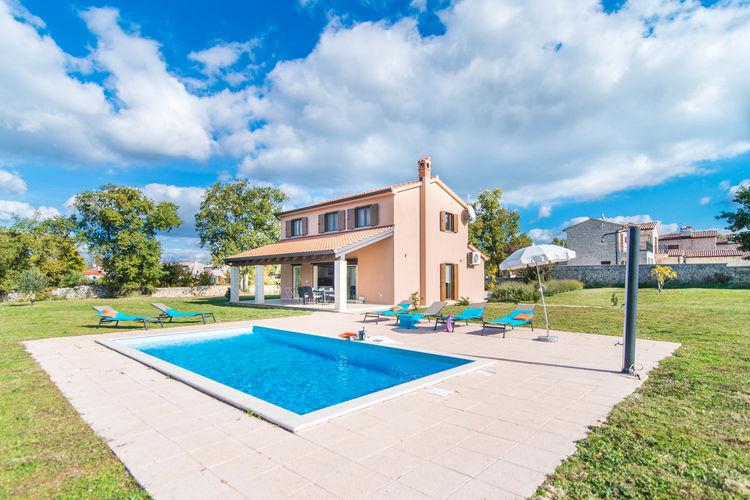Vakantiehuizen Kroatie | Istrie | Villa te huur in Sveti-Lovrec met zwembad  met wifi 6 personen