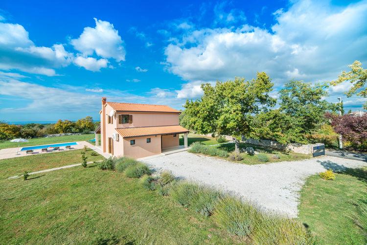 Villa Kroatië, Istrie, Sveti Lovrec Villa HR-52445-20