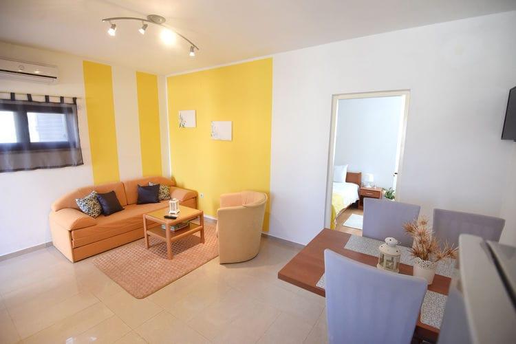 Appartement Kroatië, Dalmatie, Maslenica Appartement HR-23243-07