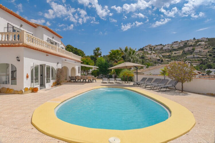 vakantiehuis Spanje, Costa Blanca, moraira vakantiehuis ES-00017-122