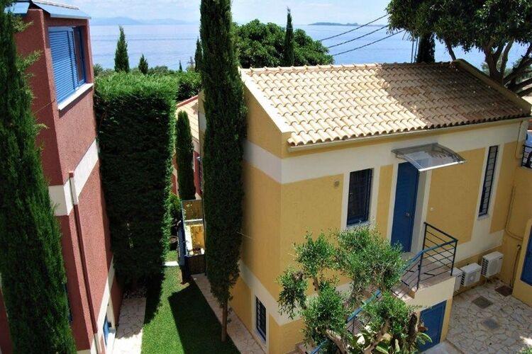 Griekenland | Corfu | Villa te huur in Barbati met zwembad  met wifi 4 personen