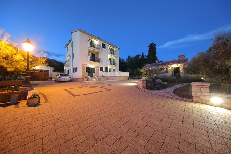 Appartement Kroatië, Dalmatie, Starigrad Appartement HR-23244-38