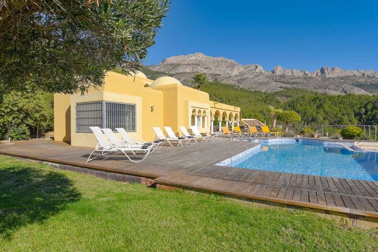 Villa Spanje, Costa Blanca, Altea Villa ES-03590-100