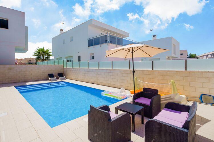 Villa Spanje, Costa Blanca, Gran Alacant Villa ES-00031-97