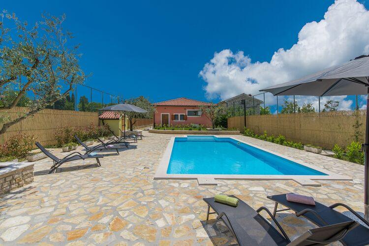 Villa Kroatië, Istrie, Smoljanci Villa HR-00017-20