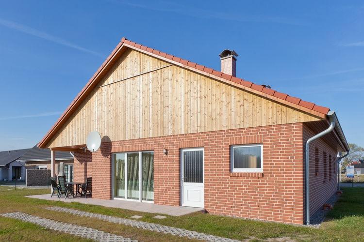 vakantiehuis Duitsland, Ostsee, Zierow vakantiehuis DE-00029-23