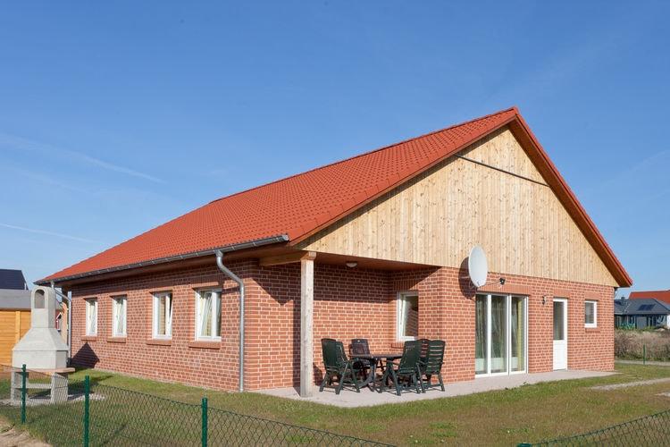 Vakantiehuis  met wifi  ZierowGrasnelkenweg Z3A