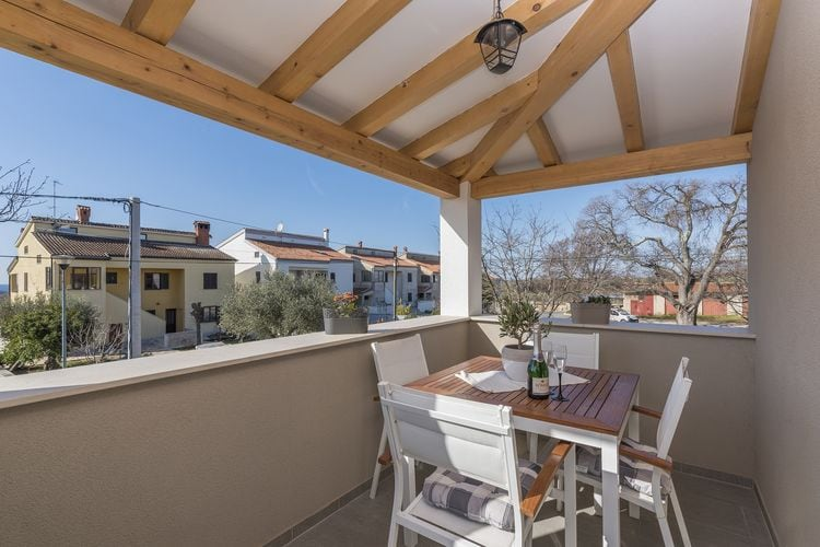 Appartement  met wifi  IstrieApartment Romano with Sea View near Poreč