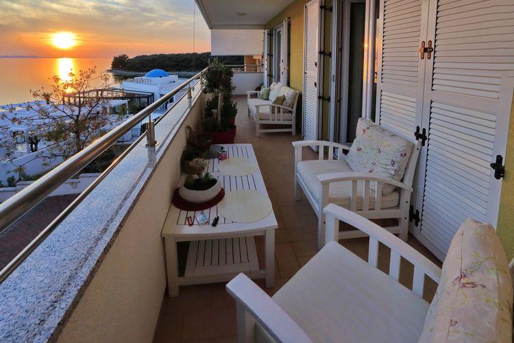 Appartement Kroatië, Dalmatie, Kozino Appartement HR-00017-32