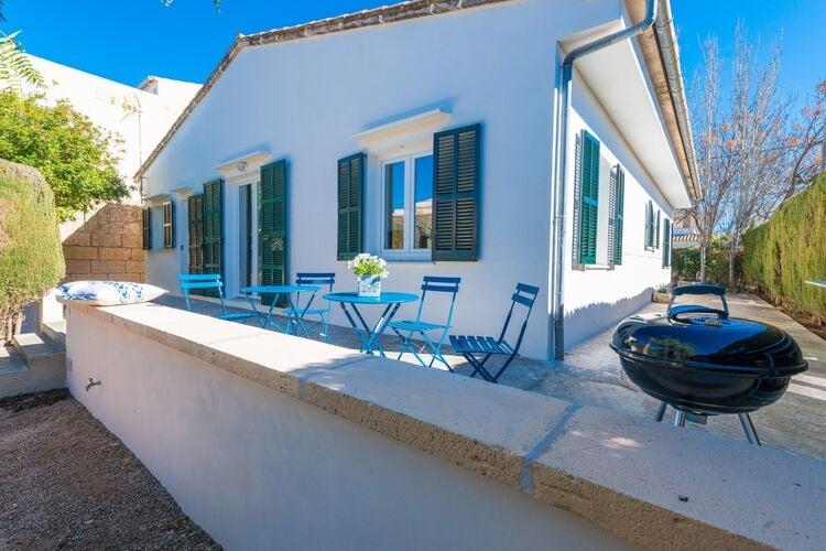 Vakantiehuizen Spanje | Mallorca | Chalet te huur in Cala-Morlanda-manacor-Illes-Balears   met wifi 6 personen