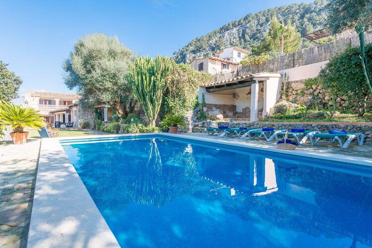 Vakantiehuizen Spanje | Mallorca | Villa te huur in Pollenca-Illes-Balears met zwembad  met wifi 8 personen