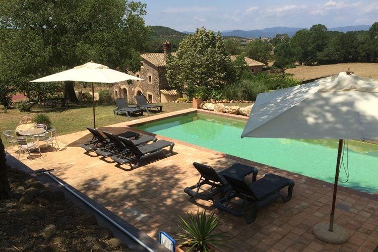 Vakantiehuis met zwembad met wifi  Macanet-de-la-SelvaMas Vidal