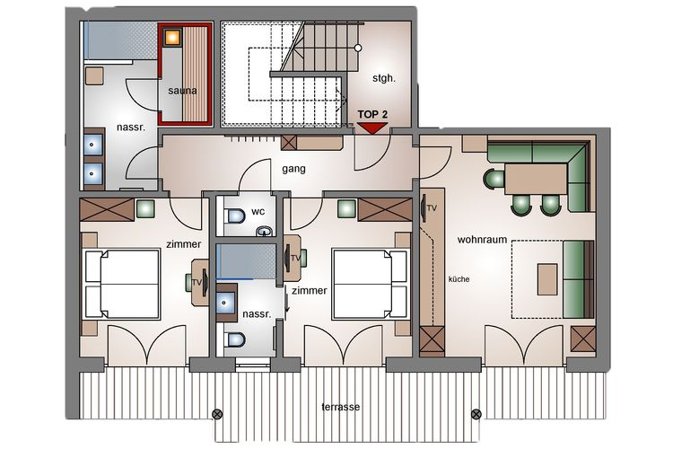 Ref: AT-5742-70 2 Bedrooms Price