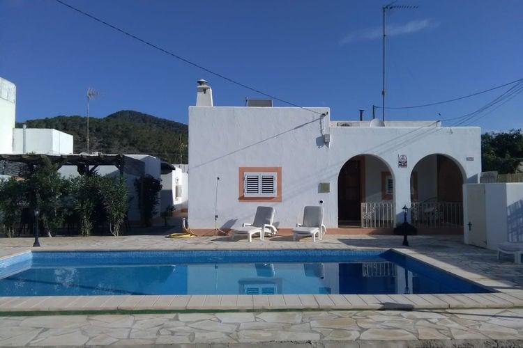 Vakantiehuis met zwembad met wifi  IbizaCan Majo I