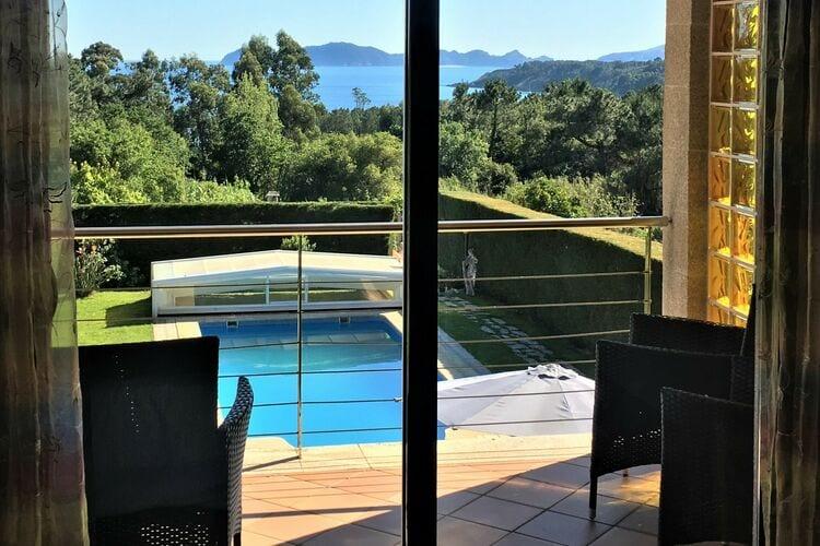 Villa met zwembad met wifi  O Hío, Cangas do Morrazo  Villa de Viñó