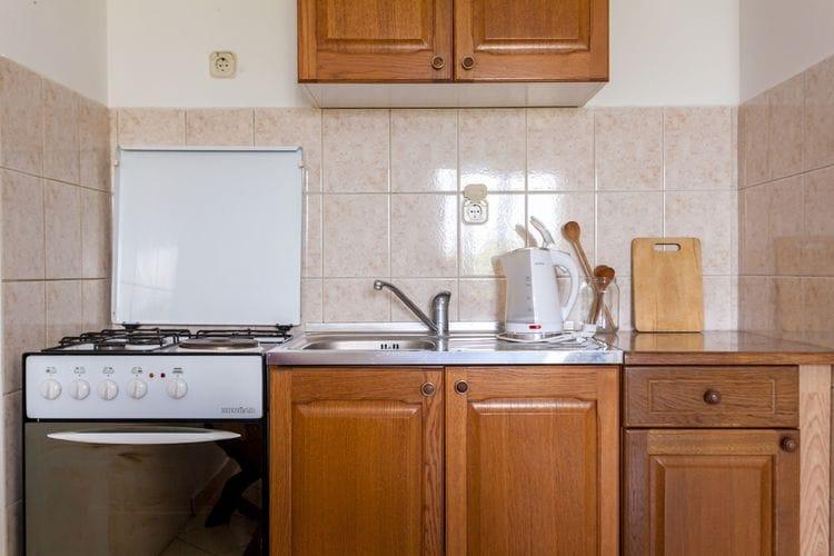Appartement Kroatië, eld, Malinska Appartement HR-00017-61