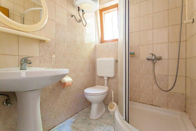 Appartement Kroatië, eld, Malinska Appartement HR-00017-62