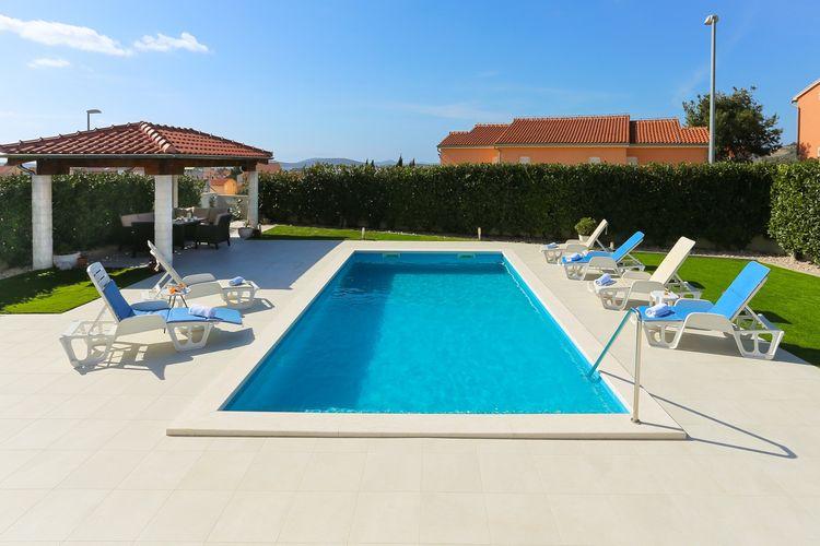 Villa Kroatië, Dalmatie, Vodice Villa HR-00017-67