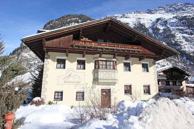 Vakantiehuizen Oostenrijk | Tirol | Appartement te huur in Solden-Langenfeld   met wifi 4 personen