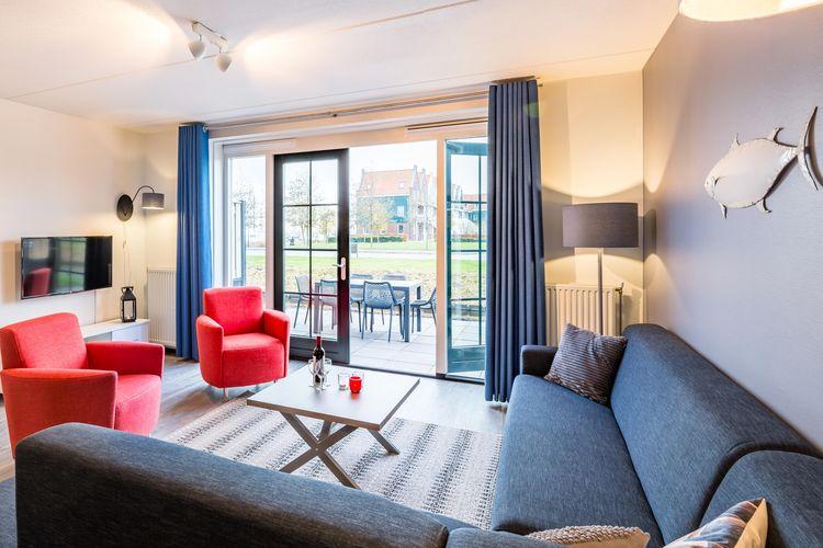 Vakantiehuizen Nederland | Noord-Holland | Vakantiehuis te huur in Volendam met zwembad  met wifi 5 personen