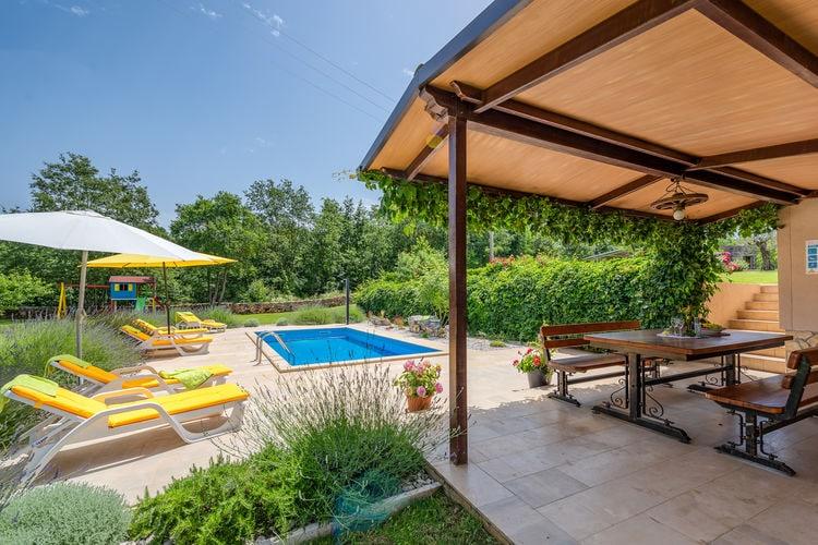 Villa Kroatië, Istrie, Zminj Villa HR-00017-88