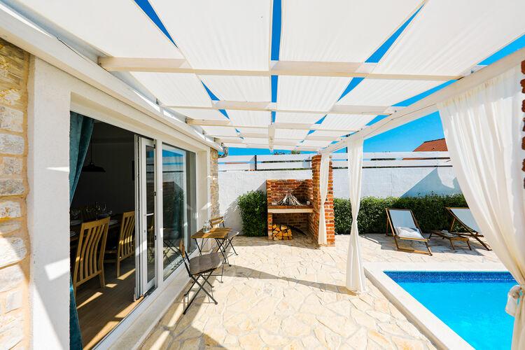Villa Kroatië, Dalmatie, Pridraga Villa HR-00017-90