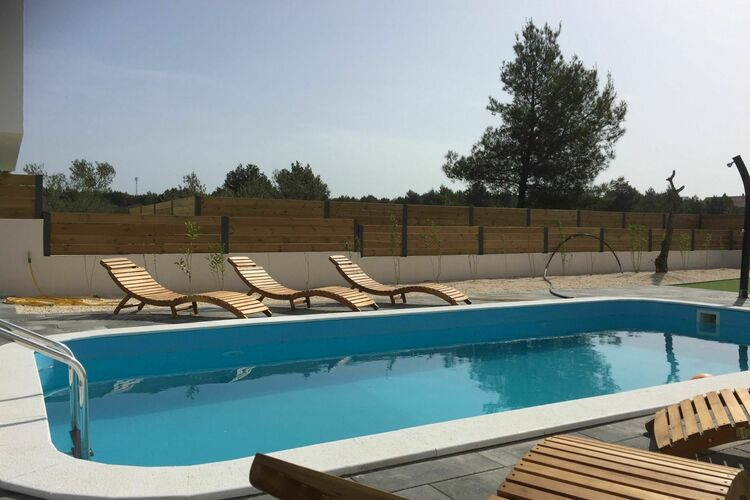 Villa Kroatië, Dalmatie, Srima Villa HR-22211-20